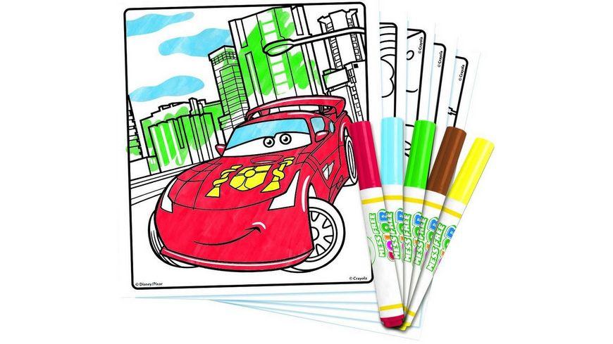 Vivid Crayola Cars Color Wonder Malbuch