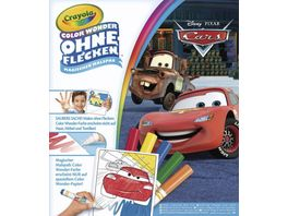 Vivid Crayola Cars Color Wonder Malbuch