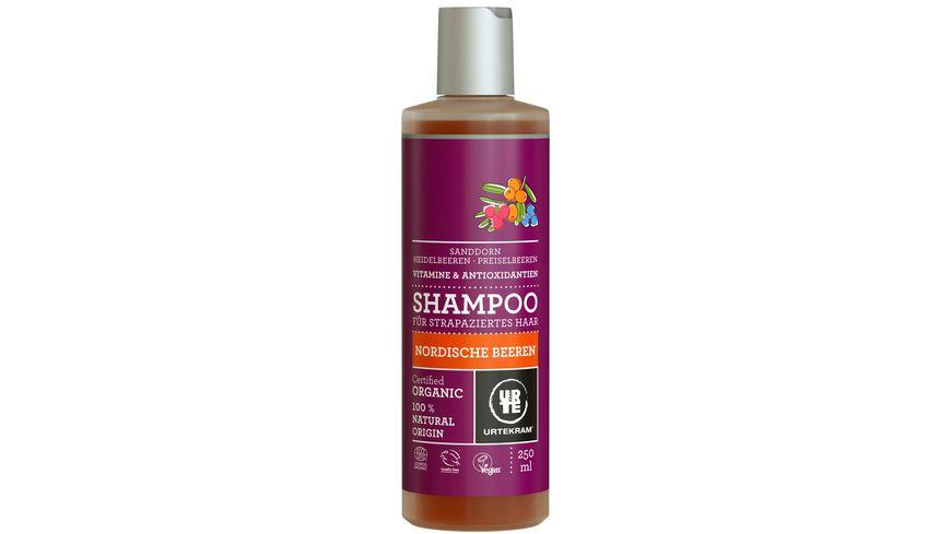 URTEKRAM Shampoo Nordische Beeren fuer strapaziertes Haar