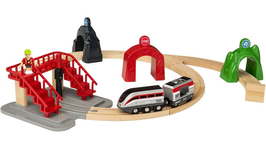 BRIO Bahn Grosses Smart Tech Reisezug Set