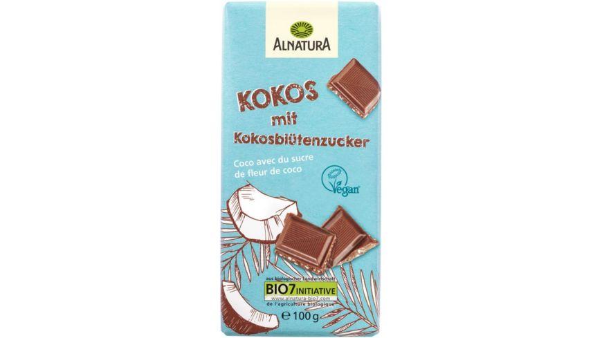 Alnatura Kokos Schokolade mit Kokosbluetenzucker