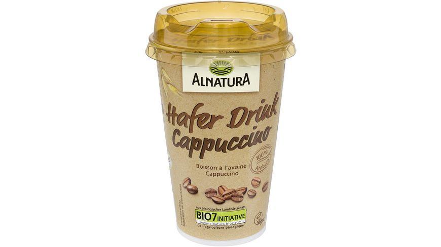 Alnatura Hafer Drink Cappuccino