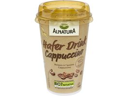 Alnatura Hafer Drink Cappuccino
