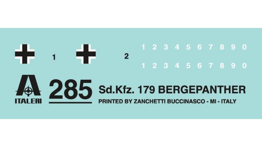 Italeri 285 SD KFZ 179 BERGEPANTHER