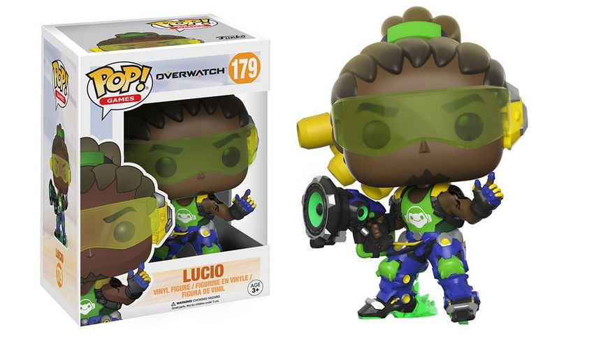 Funko Pop Figur Overwatch Lucio