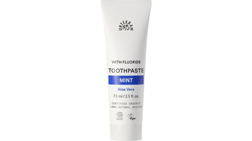 URTEKRAM Zahnpaste Minze mit Fluorid