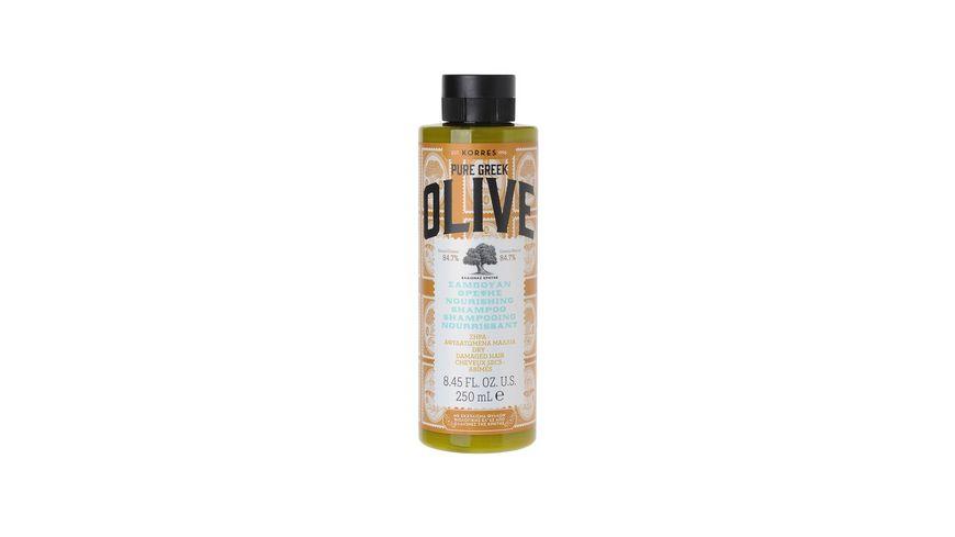 KORRES Olive Naehrendes Shampoo