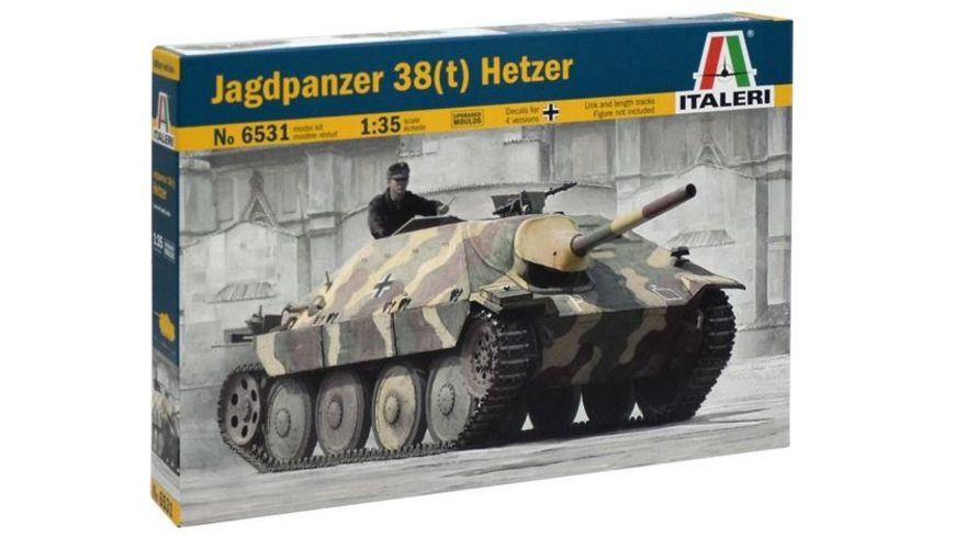 Italeri 6531 JAGDPANZER 38 t HETZER 1 35