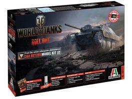 Italeri 36511 38t Hetzer Model Kit 1 35 World of Tanks