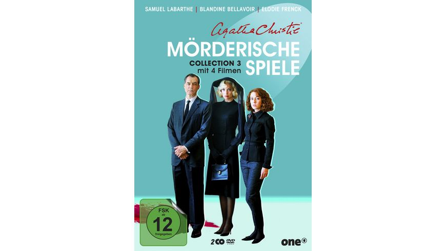 Agatha Christie Moerderische Spiele Collection 3 2 DVDs