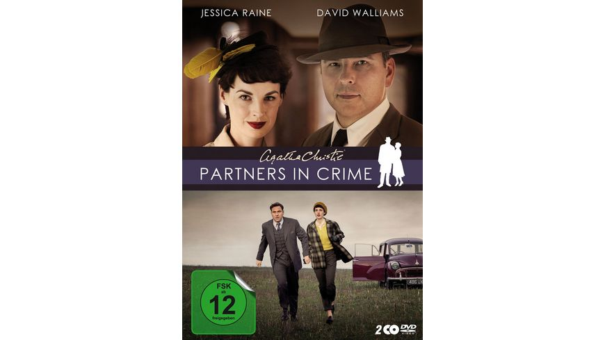 Agatha Christie Partners in Crime 2 DVDs