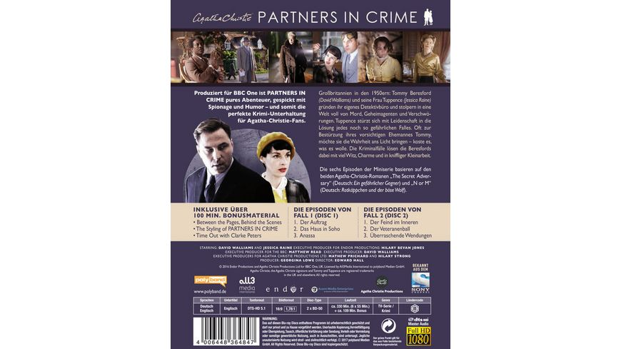 Agatha Christie Partners in Crime 2 BRs