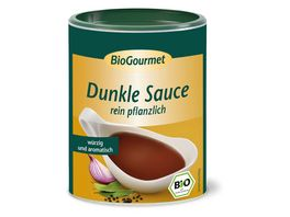 BioGourmet Dunkle Sauce