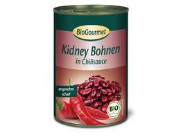BioGourmet Kidney Bohnen in Chilisauce