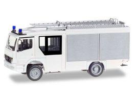 Herpa 012980 Minikit Mercedes Benz Atego Ziegler Z Cab LF 20 weiss