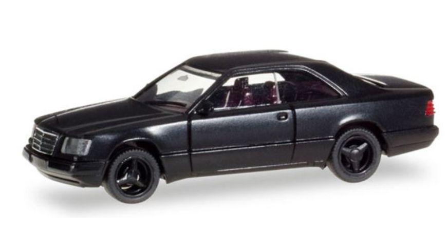 Herpa 028813 Mercedes Benz E 320 Coupe schwarz
