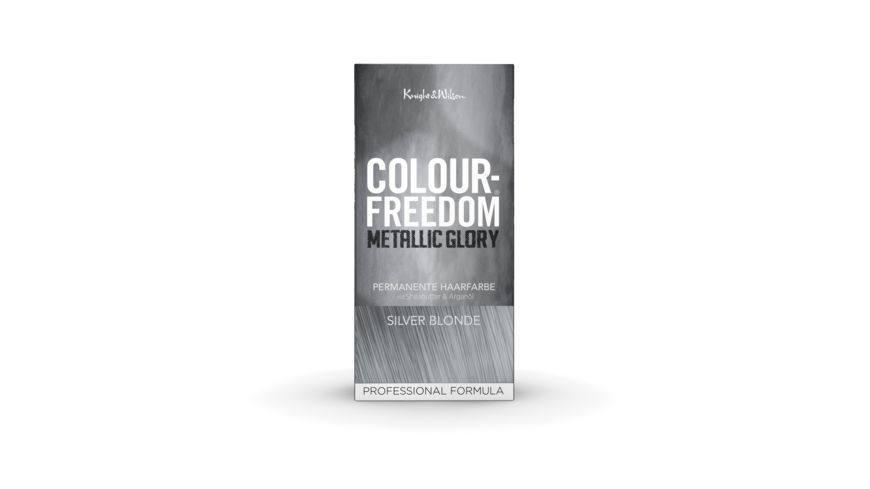 COLOUR FREEDOM METALLIC GLORY Silver Blonde permanente Haarfarbe