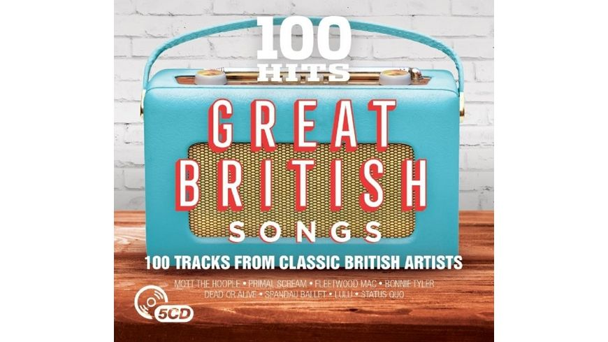 100 Hits Great British Songs