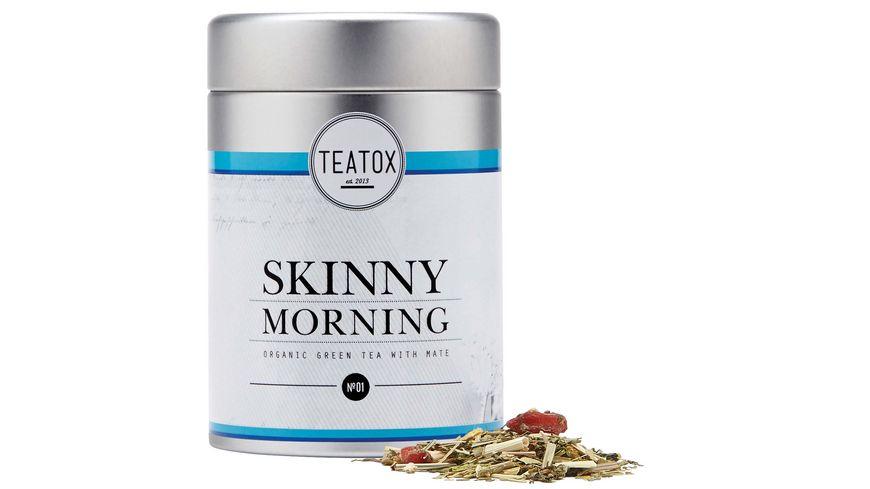 TEATOX Skinny Morning Bio Gruener Tee mit Mate