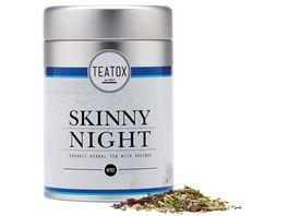 TEATOX Skinny Night Bio Kraeutertee mit Rooibos