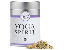TEATOX Yoga Spirit Bio Kraeutertee mit Lavendel