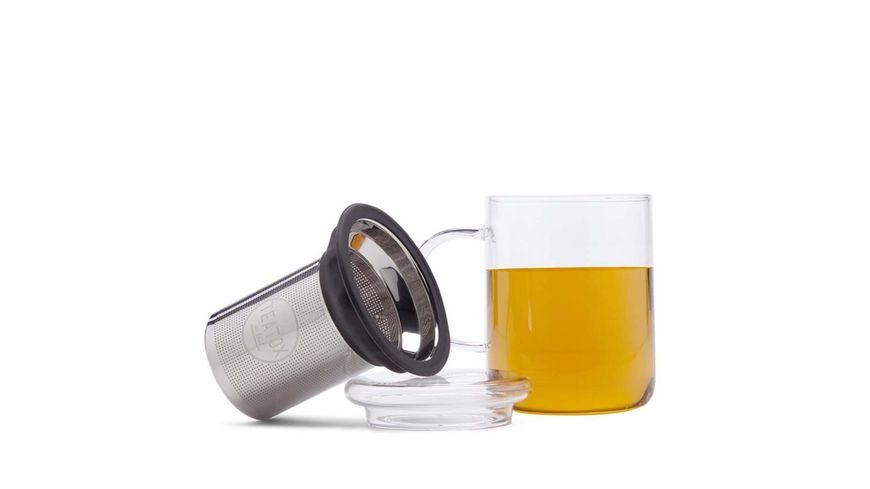 TEATOX Glass Tea Mug mit Teesieb