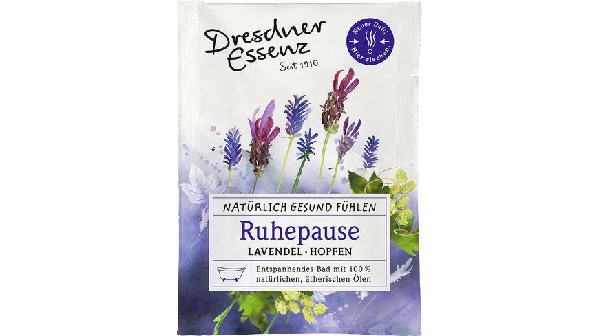 Dresdner Essenz Bad Ruhepause Natuerlich gesund fuehlen