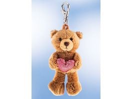 Rudolf Schaffer Collection Schluesselanhaenger Teddy mit Herz