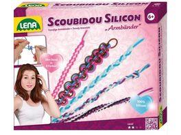 Lena 42695 SCOUBIDOU SILICON Armbaender