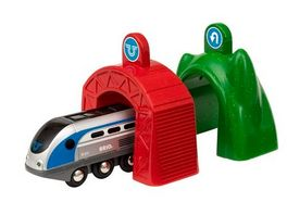 BRIO Bahn SMART Tech Zug mit Actiontunnels