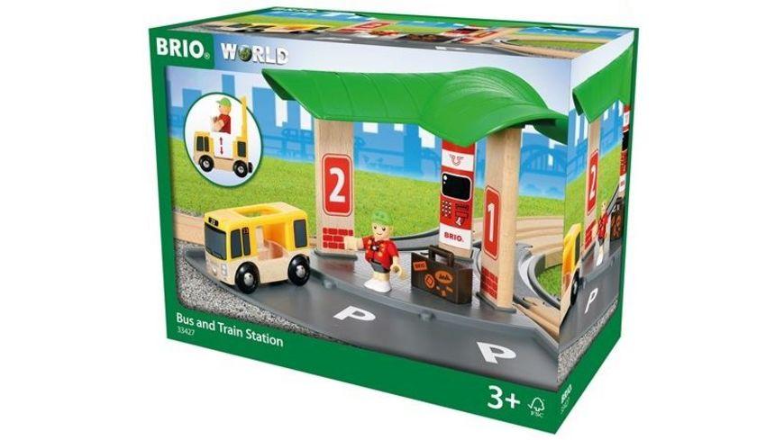 BRIO Bahn Bus und Zug Bahnhof