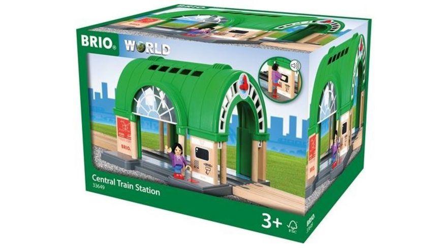 BRIO Bahn Neuer Hauptbahnhof mit Ticketautomat