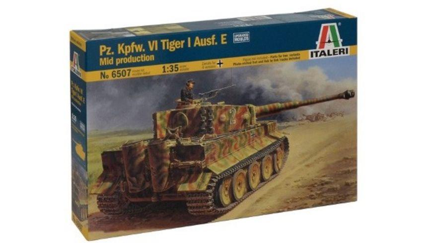 Italeri 6507 Pz Kpfw VI Tiger I Ausf E mid production
