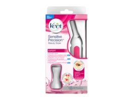 Veet Sensitive Precision Expert Beauty Styler Praezisions Trimmer fuer Gesicht und Koerper