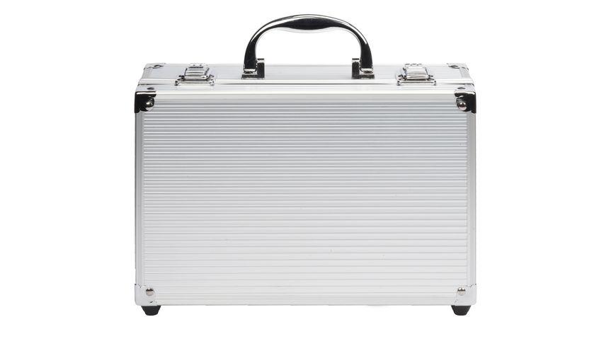 Schminkkoffer 54 Teile im Alu Design