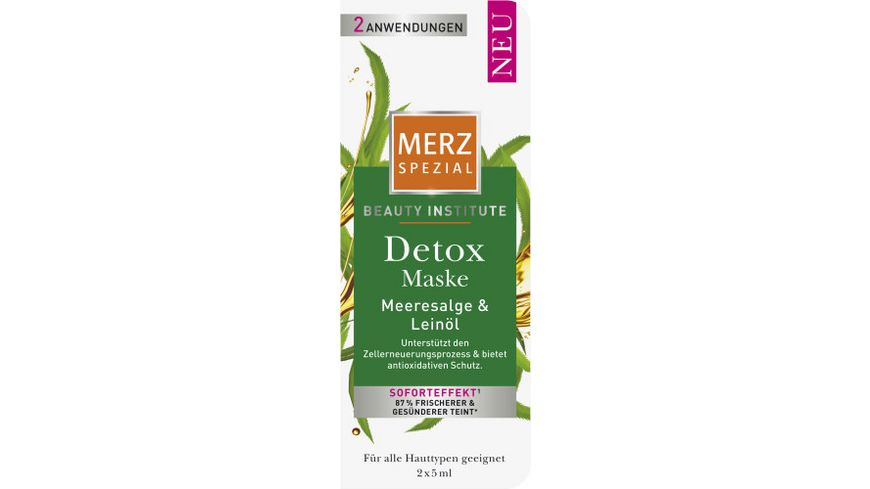MERZ Spezial Beauty Institute Maske Detox