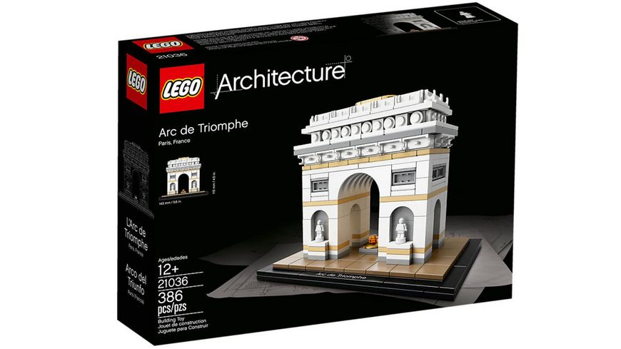 LEGO 21036 Architecture Der Triumphbogen
