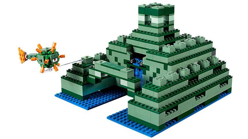 LEGO Minecraft 21136 Das Ozeanmonument