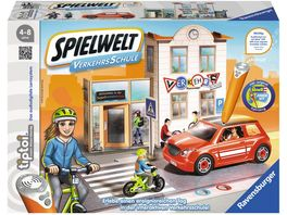 Ravensburger tiptoi Spielwelt Verkehrsschule