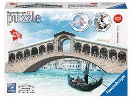 Ravensburger Puzzle 3D Puzzles Rialtobruecke 216 Teile