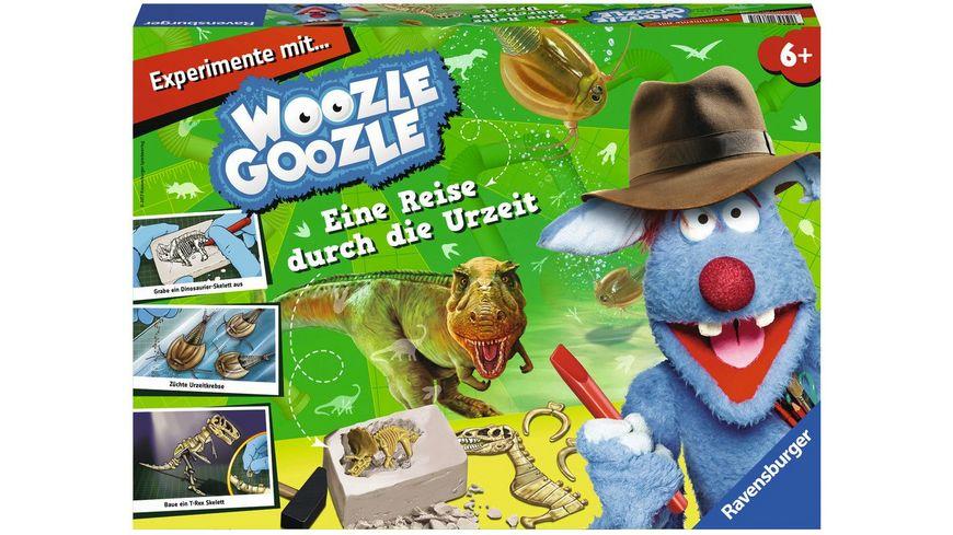 Ravensburger Beschaeftigung Woozle Goozle Eine Reise durch die Urzeit