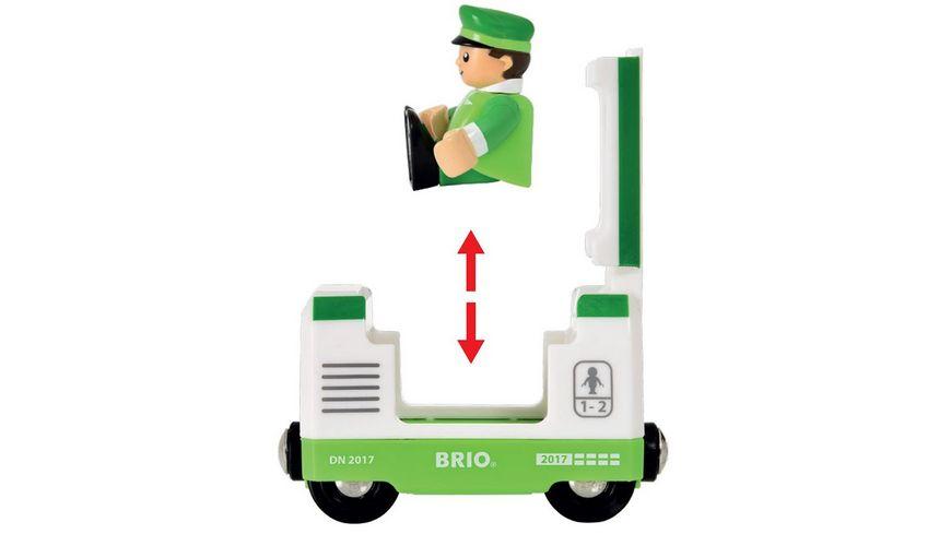 BRIO Bahn Gruener Reisezug