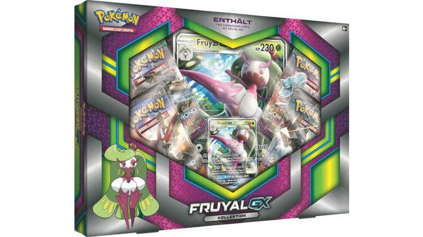 Pokemon Sammelkartenspiel Kollektion Fruyal GX