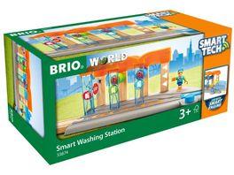BRIO Bahn Smart Tech Waschanlage fuer Zuege