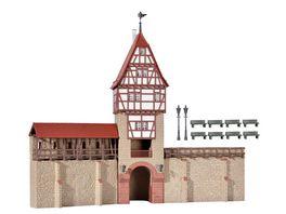 Kibri 38914 H0 Stadtmauer mit Fachwerkturm in Weil