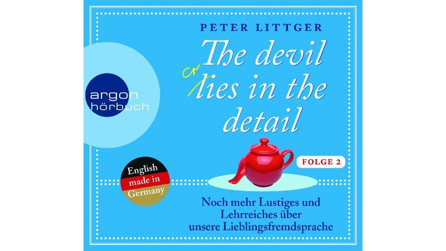 The Devil Lies In The Detail Folge 2