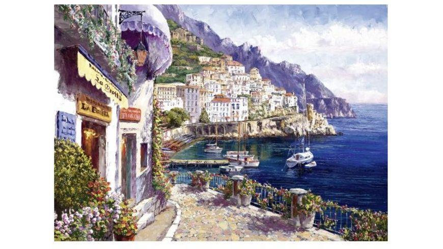 Schmidt Spiele Erwachsenenpuzzle Amalfi am Nachmittag 2000 Teile
