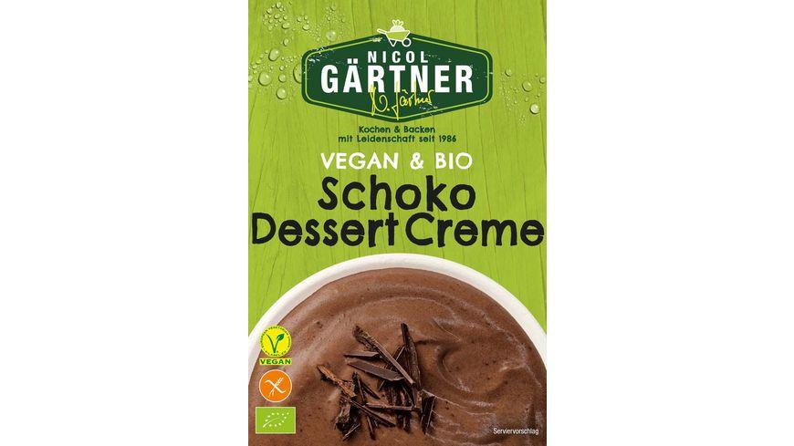 NICOL GAeRTNER BIO Dessert Creme Schoko