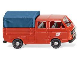 WIKING 0293 06 VW T3 Doppelkabine OeBB