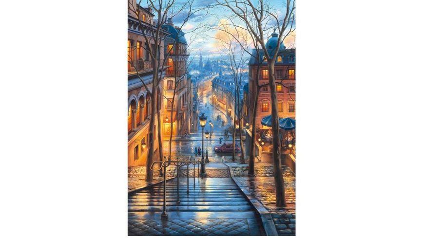 Schmidt Spiele Erwachsenenpuzzle Fruehlingsmorgen in Montmartre 1000 Teile